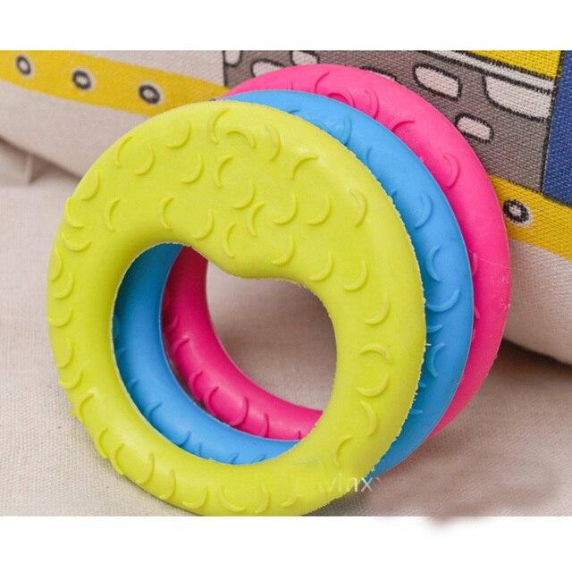 1 pz New Pet Dog Toys Cute TPR Luna A Forma di Giocattolo gomma Resistente Spina