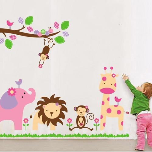 comprar venta d grande dibujos animados nio beb rbol foto etiqueta de la pared de hadas dormitorio calcomanas decoracin del hogar