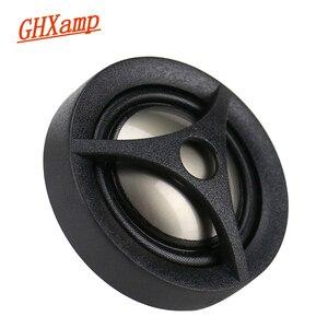 Image 2 - Ghxamp 1 인치 돔 자동차 수정 된 고음 홈 스피커 트위터 티타늄 필름 4ohm 15 w 2 pcs