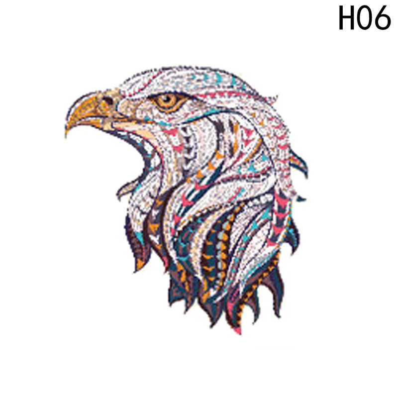 Funny 3D Horse Clothes Patch Stickers for Tops T-shirts Household Iron on Transfers DIY Animal Decoration Appliqued for Life