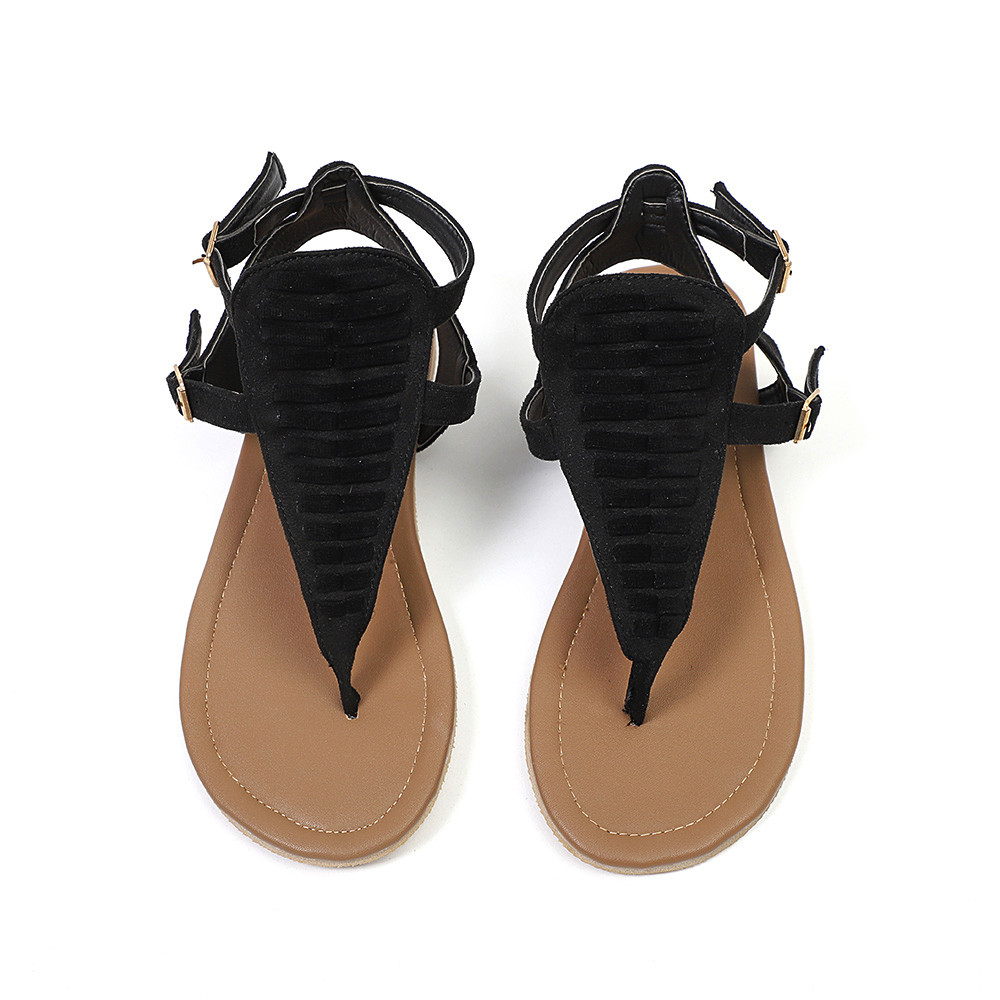2018 Women Sandals Shoes Woman Summer Fashion Flip Flops Low Slippers Beach Sandals Shoes Gladiator Sandals Sandalias Mujer suojialun 2018 women sandals plus size 35 41 shoes woman summer fashion flip flops flat sandals gladiator sandalias mujer