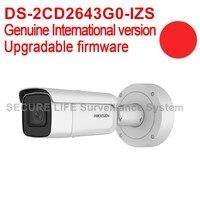 Hikvision DS 2CD2643G0 IZS English Version 4MP IR VF Bullet Network IP CCTV Camera POE 50m