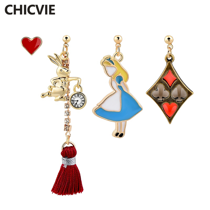 Купить chicvie модные эмалированные ювелирные изделия в мультяшном