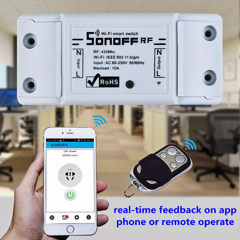 Sonoff Ios Android Wifi Wireless Universal Switch Smart
