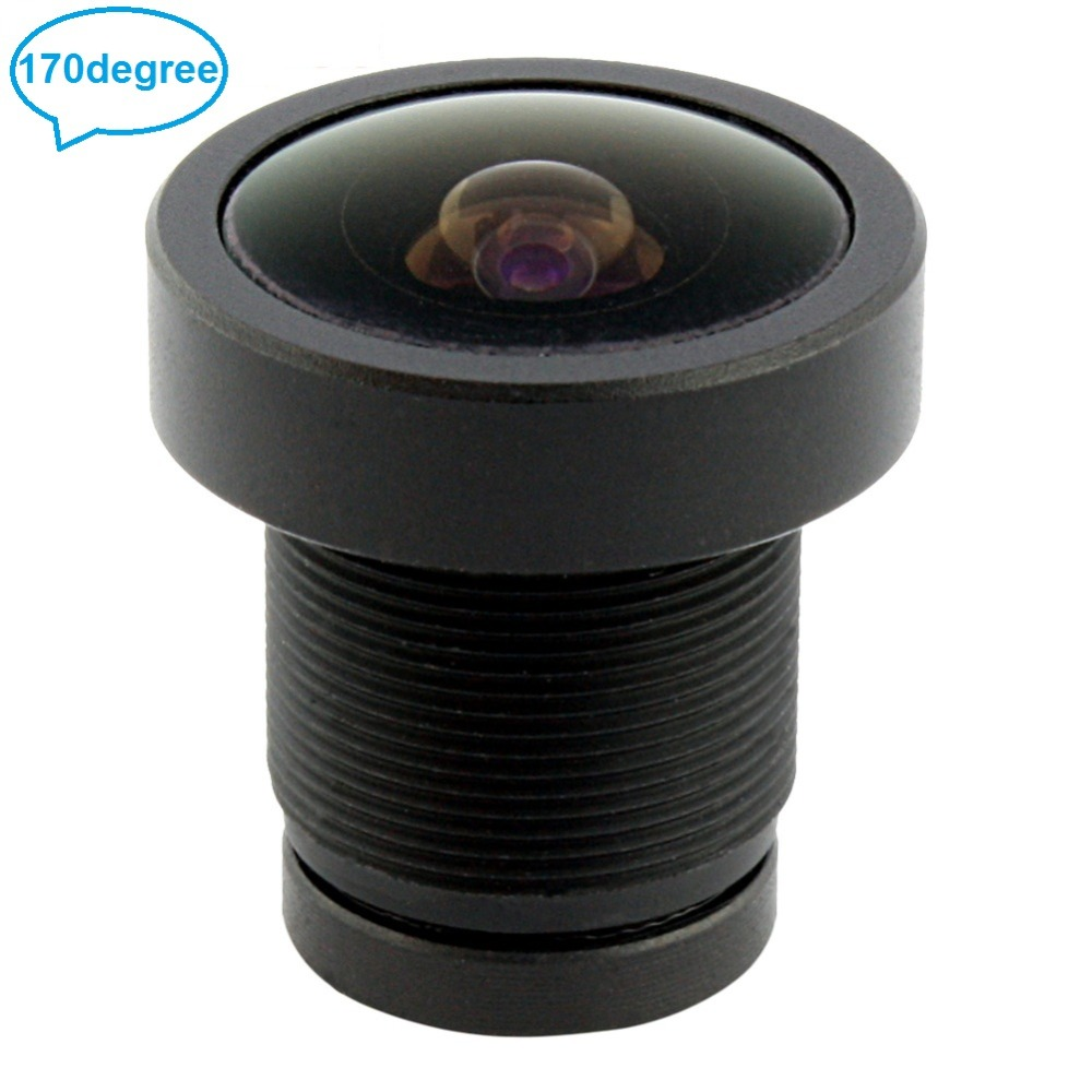 Security camera lens wide angle 170degree M12 mount cctv fisheye lens with 650nm ir filter for usb cameras/ip cameras цены онлайн