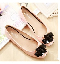 Spring and summer new Patent Leather fashion sweet flat shoes 33-43 big yards for women's shoes