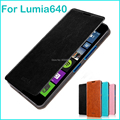 For Microsoft Lumia 640(5.0) Case Luxury Flip Leather Stand Case For Nokia Lumia 640(5.0) Hight Quality Book Style Phone Cover
