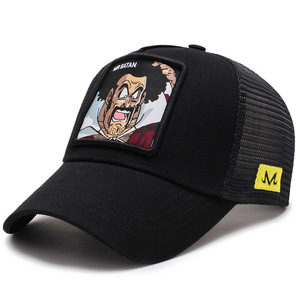 Image 5 - 2019Newファッションドラゴンボール野球キャップ男性通気性メッシュスナップバックキャップ太陽の帽子骨キャスケットヒップホップキャップお父さん帽子