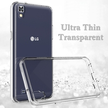 For LG X Power Case Transparent Clear Slim Thin Soft TPU Silicone Case For LG X Power K210 K220 K220ds Cover Back Cases Funda