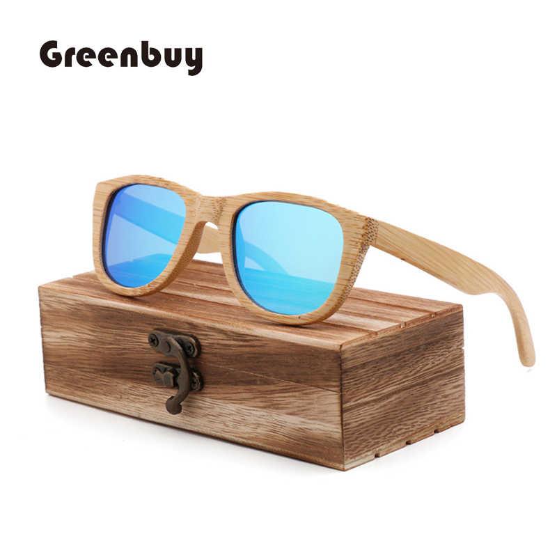 74c1af9175 2018 natural bamboo sunglasses women polarized brown sunglasses wood bamboo  UV400 sunglasses oculos de sol feminino