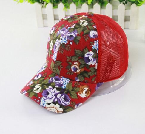 50 шт./партия Federal Express быстро китайский национальный стиль дышащая шляпа от солнца шляпа летние спортивные Цветочные бейсболки на открытом воздухе