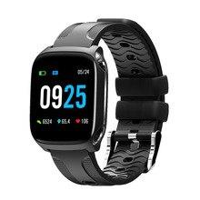 ONEVAN Relógio Inteligente da Frequência Cardíaca Monitor de Pressão Arterial Pulseira À Prova D Água Banda de Fitness Rastreador Atividade Pulseira para Ios Android