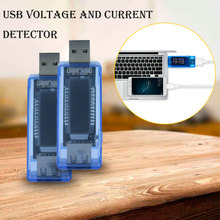 3 in 1 Mobile Power Detector Battery Test Voltage Current Meter Battery Tester Blue Measuring Instruments USB Charger Doctor new 3 in 1 battery tester voltage current detector mobile power voltage current meter usb charger