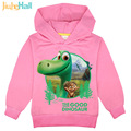Jiuhehall 2017 Hot Sale Baby Boys Girls Dinosaur Sweatshirts Children Spring Autumn Hoodie Long Sleeve Kids Cartoon Tops FCM016