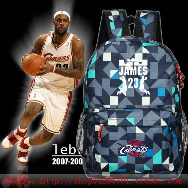 8f0325af3b7f LeBron JAMES  23 new male female students College Wind backpack schoolbag  boys girls soccer bags BASKETBALL KIDs gift youth bag