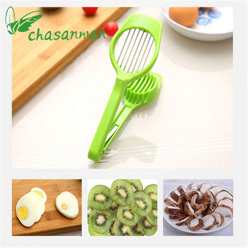 1Pcs Vegetable Cutter Cut Eggs, Slicers, Mushrooms Slices, Fruit and Vegetable Slices Gadget Kitchen Goods,B