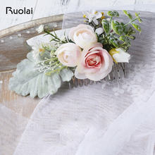 Элегантный свадебный головной убор Свадебные аксессуары Роза