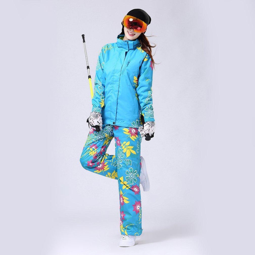 Femmes polaire Ski hiver imperméable coupe-vent épaissir chaud neige vêtements Ski manteaux veste pour le Ski et le snowboard