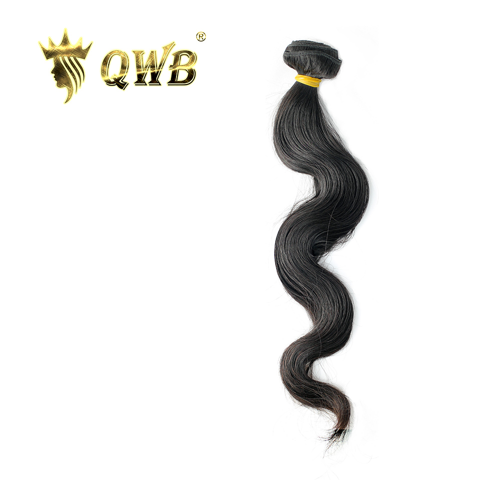 QUEEN WEAVE BEAUTY LTD QWB Body Wave Free Combination 12 28 Brazilian Virgin Hair Nature Color