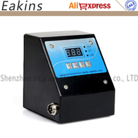 110v 220V Mug Plate T Shirt Cap Heat Press Machine Digital Control Box Time Temperature Controller
