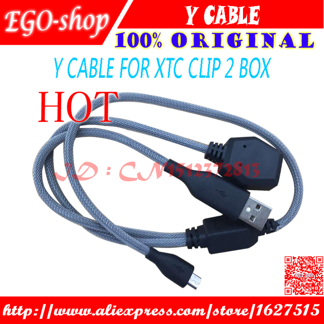 US $10 8 |gsmjustoncct Y Cable for XTC 2 Clip box-in Telecom Parts from  Cellphones & Telecommunications on Aliexpress com | Alibaba Group