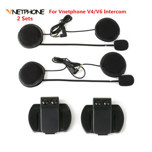 2PCS Headset Microphone Headph