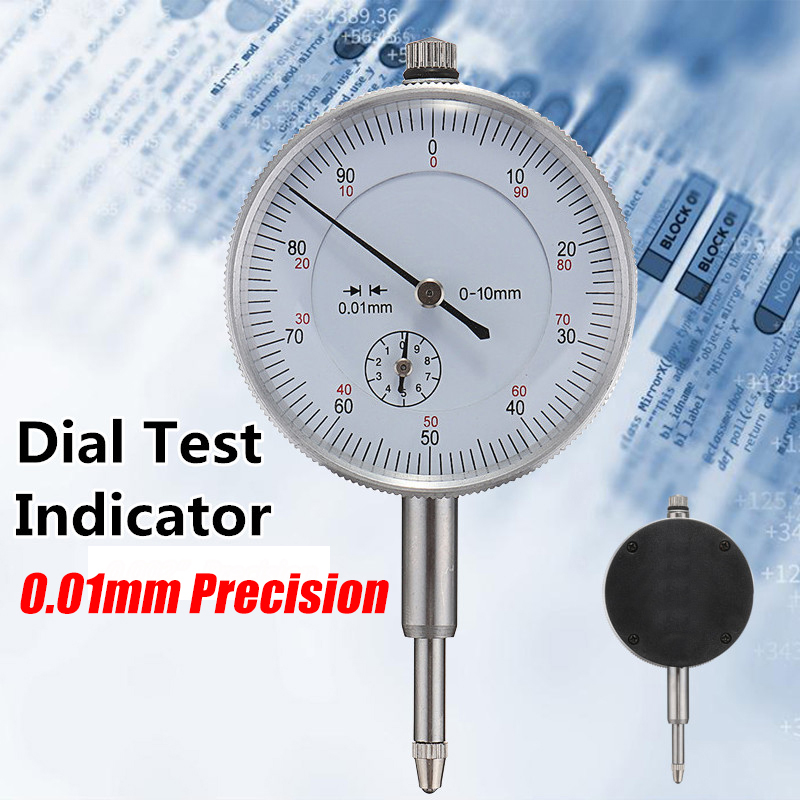 High Quality Round Dial Indicator Mechanical Dial Test Indicator inch Precisions Dial Test Indicator Lever Measuring  Tool