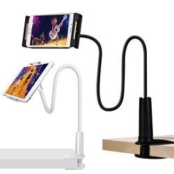 Stojak na Tablet uchwyt elastyczny telefon biurkowy wsparcie dla iPad Samsung mi pad 4 Xiao mi dla iPhone leniwy łóżko Tablet PC stoi góra w Stojaki do tabletów od Komputer i biuro na