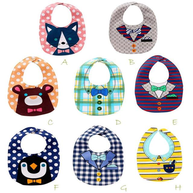 Beautiful Baby Kids Saliva Bibs Toddler Boys And Girls Cartoon Print Pinafore Minnie Kids Saliva Protective Bibs Infant Scarf