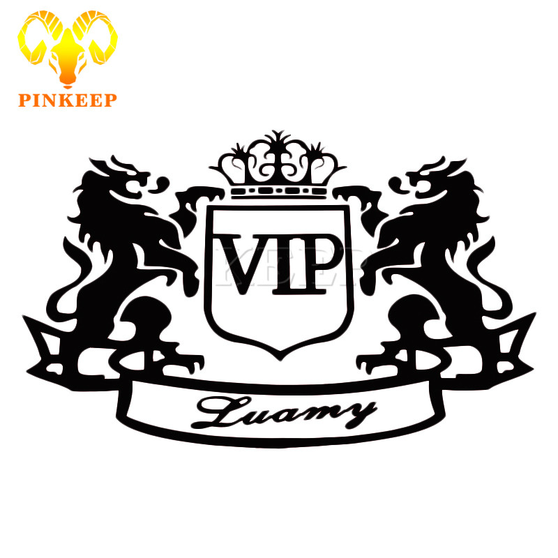 Aliexpress Com Buy Fashion Car Sticker Vip Emblem Badge Auto Decal