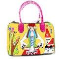 2016 Women Messenger bags Women's flor Shoulder Bags embroidery Handbags Art Retro Handmade Bolsas for Feminina Ladies Cute girl