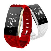 S2 Умные браслеты Фитнес сердечного ритма Мониторы с Bluetooth Remote Камера Музыка Видео повседневной работе жизнь напомнить для IOS Android