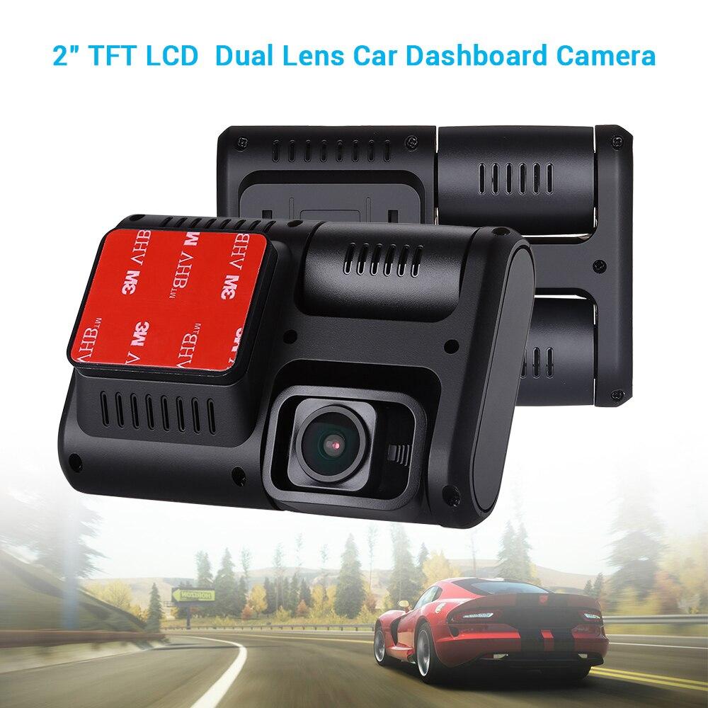 Voiture DVR 1080 P Double caméra tableau de bord caméra GPS Sony IMX323 Full HD Double lentille Vision nocturne blackbox wifi enregistreur vidéo Auto dvr enregistrement