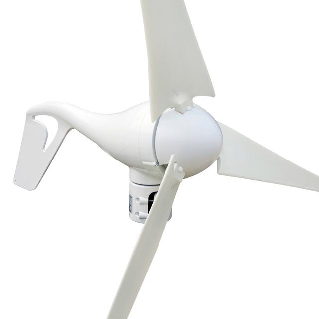 ECO-SOURCES USA Stock No Tax No Duty 700W Hybrid kit: 400W Wind Turbine Generator &300W Monocrystalline Solar Panel 24V System