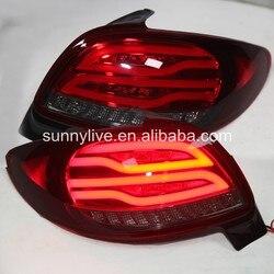 لمبة خلفية LED للسيارة بيجو 206 من النوع V2 من 1998 إلى 2004 واط في الساعة