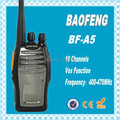 DHL freeshipping+2pcs/lot New Arrival Baofeng BF A5 Updated from BF 888s Two-Way Radio 5-8KM Distance Walkie Talkie bf-a5