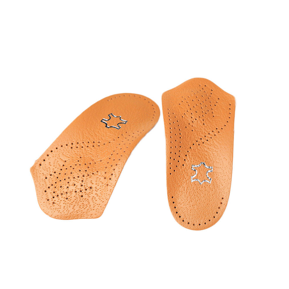 Half Arch Support Orthopedic Insoles Flat Foot Correct Feet Care Shoe Pad Gift