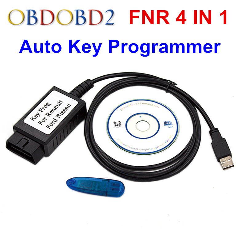 цена на Latest Version FNR Key Prog 4 in 1 For Nissan For Renault And Incode Calculator Key Programmer