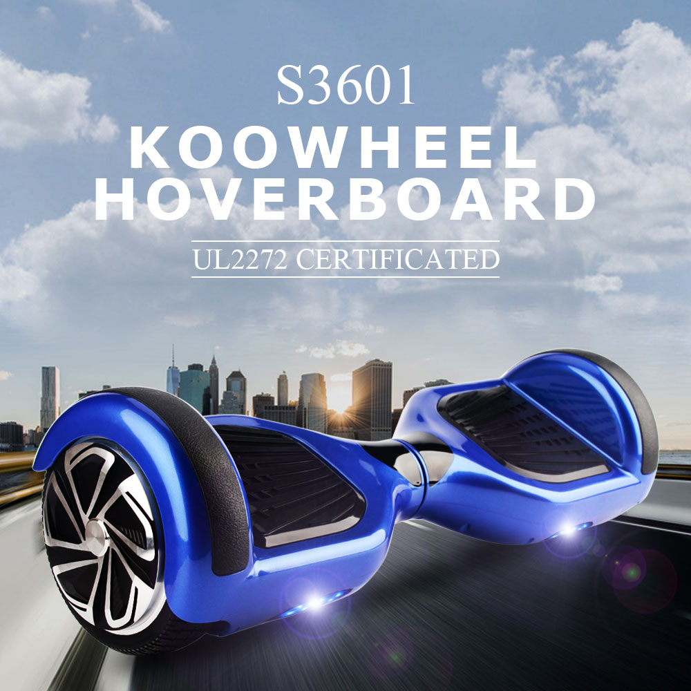 UL2272 hoverboard 2 wheel self electric balance scooter 6.5 inch two wheels hover board with samsung 18650 battery Free shipping