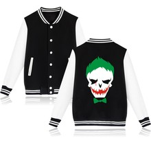 Women's baseball jacket Suicide Squad Harley Quinn Giacca Donna e Abbigliamento Hoodie Delle Donne in Rosa Delle Cappotti xs 4xl