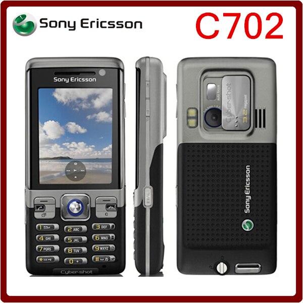 Цена за C702 Оригинальный Sony Ericsson C702 Разблокирована Сотовый Телефон GPS 3 Г 3.15MP поддержка России и Арабский клавиатура Бесплатная Доставка