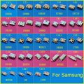 Freeshiping 22 models For Samsung USB port galaxy s3 s4 s5 s6 micro usb connector pcb charger charging plug dock jack socket