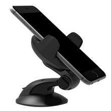 Besegad 360 Degree Rotation Car Mount Mobile Phone Holder Stand Suction Cup for iPhone Samsung Google 5-8cm Width Cellphone