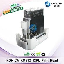 100% оригинал! Большой формат струйный принтер konica km512ln (42pl) печатающая головка 512 konica голову