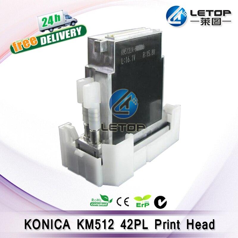 100% Original!! de grande formato impressora jato de tinta Konica KM512LN (42PL) Da Cabeça De Impressão 512 cabeça konica