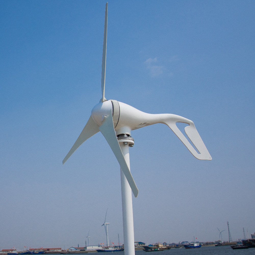 Wind Turbine 400W Combine With 400W Wind Generator Controller And CE RoHS Approval