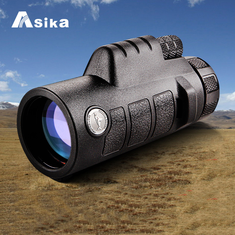 8x42/10x42 Telescope Monocular With Bak4 Prism Optics Waterproof Monoculars Outdoors for Camping Hunting Goods 8x42 10x42 monocular telescope bak4 prism nitrogen waterproof monoculars fmc multi coated for hunting camping hiking travel