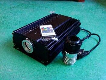 100W LED optical fiber light engine,AC85-260V input,with 20key RF remote