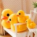 """Envío gratis 1 unids 20 cm 7.9 """" Big Yellow Duck animales de peluche de juguete de felpa, grande lindo pato amarillo juguetes de peluche para regalo de cumpleaños"""