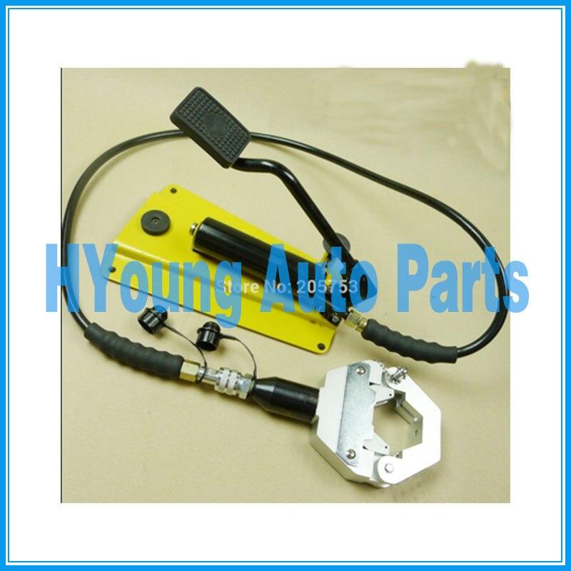 Ac штуцер шланга обжимной машины, ножной гидравлический шланг обжимной инструмент/гидравлический шланг щипцы